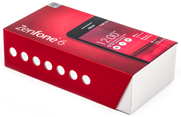 Упаковка смартфона Asus Zenfone 6