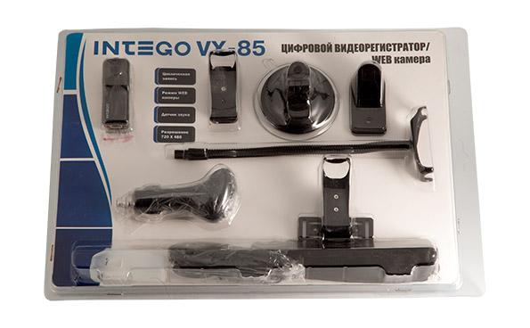 Intego vx-85 видеорегистратор автомобильный видеорегистратор 720 hd 6 ir руководство пользователя