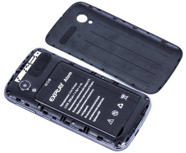 Дизайн смартфона Explay Atom