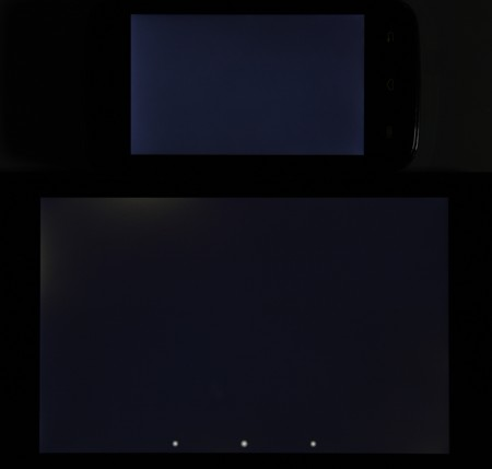 Обзор смартфона Explay Atom. Тестирование дисплея