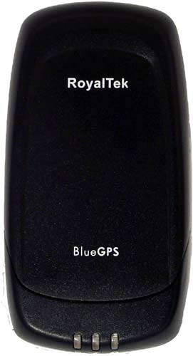 Royaltek BlueGPS RBT-3000 сверху