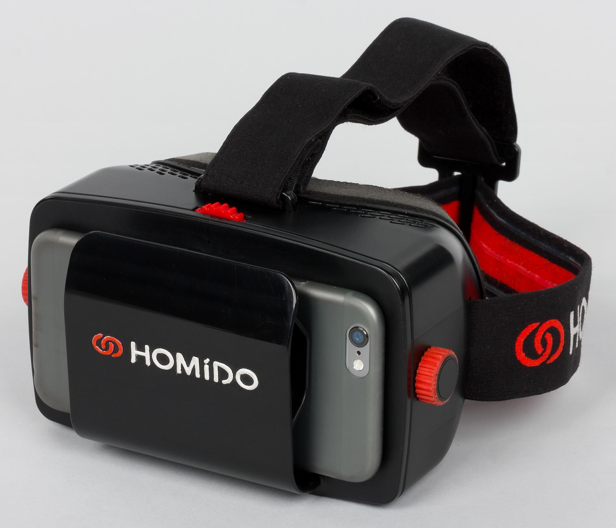 Homido очки виртуальной реальности для смартфона кронштейн смартфона iphone (айфон) phantom наложенным платежом