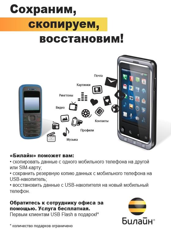 перенос данных с телефона на телефон