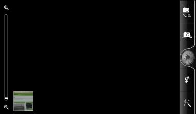Обзор HTC Evo 3D. Скриншоты. Управление камерой