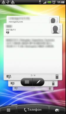 Обзор HTC Evo 3D. Скриншоты. Пятая вкладка основного экрана