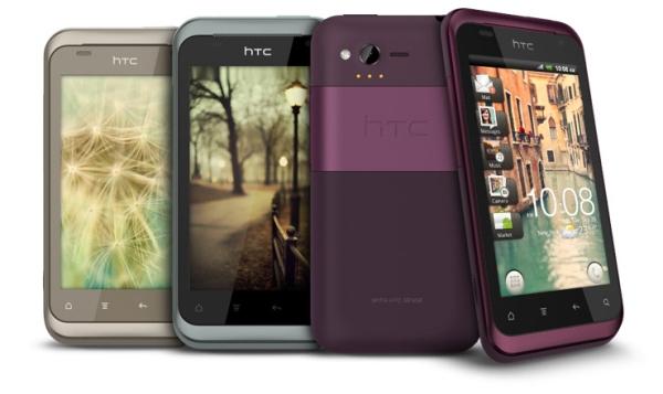 HTC Rhyme цвета