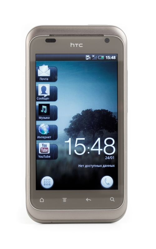 HTC Rhyme лицевая поверхность