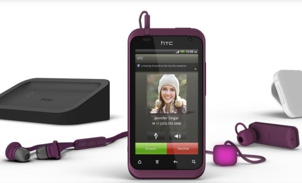 HTC Rhyme сиреневый комплект