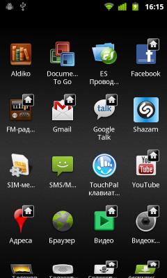 Обзор Huawei Vision. Скриншоты. Список приложений