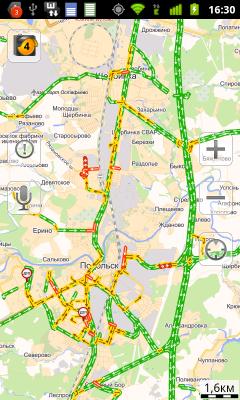 Обзор Huawei Vision. Скриншоты. Яндекс.Карты