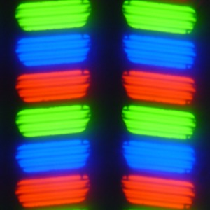 Обзор смартфона Micromax Canvas Juice A1. Тестирование дисплея
