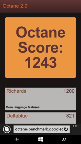 Обзор Microsoft Lumia 640. Скриншоты. Octane