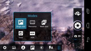 Настройки камеры Motorola XT925