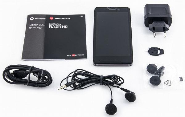 Комплект поставки Motorola XT925