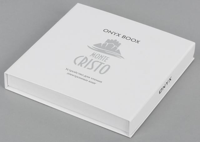 Упаковка Onyx Boox Monte Cristo