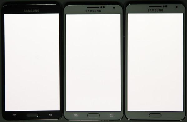 Результаты тестирования экрана Samsung Galaxy Note 3