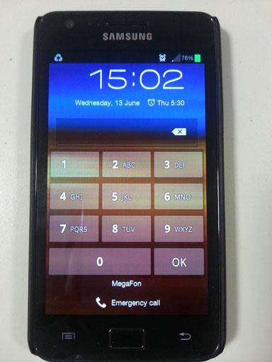 Обзор Samsung Galaxy S 3. Демонстрационный снимок