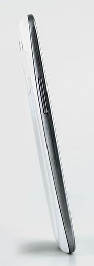 Обзор Samsung Galaxy S 3. Левая грань корпуса коммуникатора