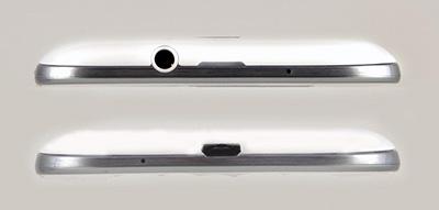Обзор Samsung Galaxy S 3. Верхний и нижний торцы корпуса коммуникатора