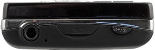 Обзор Sony Ericsson Xperia mini pro. Верхний торец коммуникатора