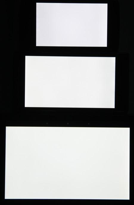 Обзор смартфона Sony Xperia C. Тестирование дисплея