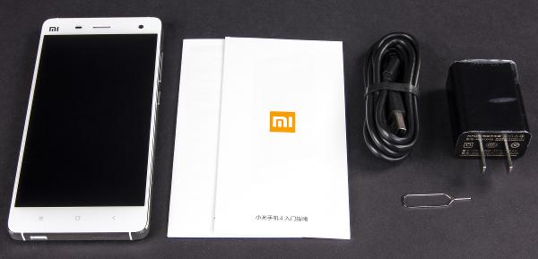 Комплект поставки Xiaomi Mi4