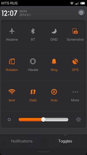 Конфигурация Xiaomi Mi4