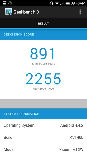 Производительность Xiaomi Mi4