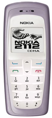 Первый телефон, Nokia 2112, построен на базе собственного CDMA2000 1X...