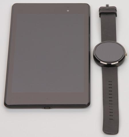 Обзор умных часов  Motorola Moto 360. Тестирование дисплея