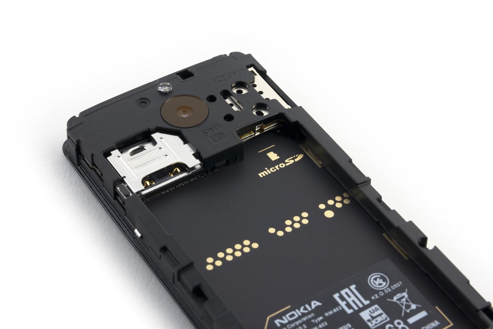 Дизайн телефона Nokia 515