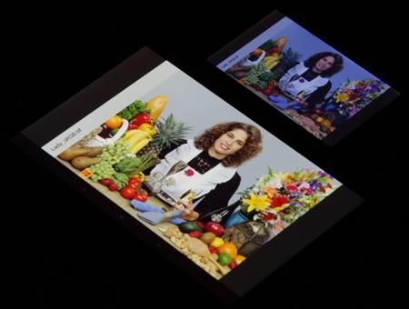 Обзор смартфона Nokia X. Тестирование дисплея