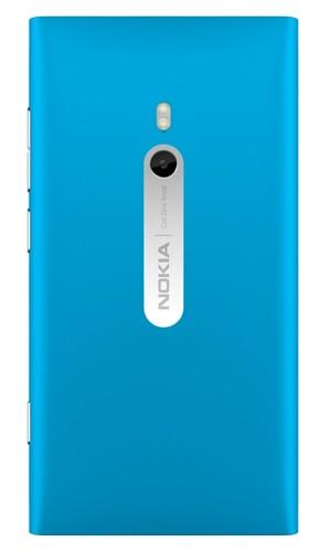 Nokia Lumia 800, задняя панель