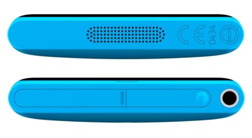 Nokia Lumia 800, верхняя и нижняя грани