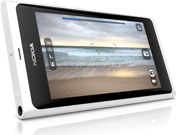 белый Nokia N9