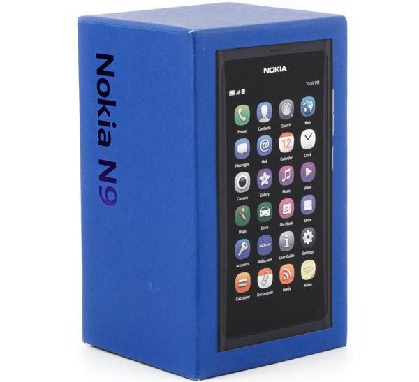 Коробка смартфона Nokia N9