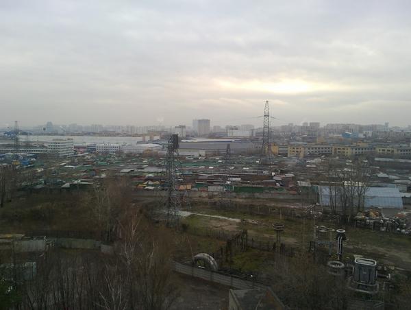 Фотография, снятая на тыловую камеру смартфона Nokia N950