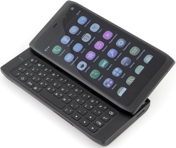 Внешний вид смартфона Nokia N950