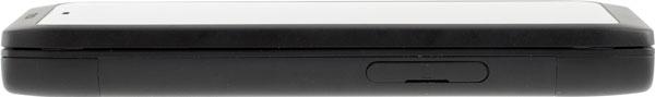 Левая грань смартфона Nokia N950