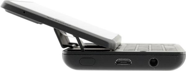 Смартфон Nokia N950: вид сбоку