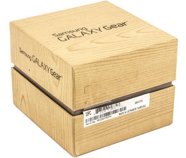 Коробка умных часов Samsung Galaxy Gear
