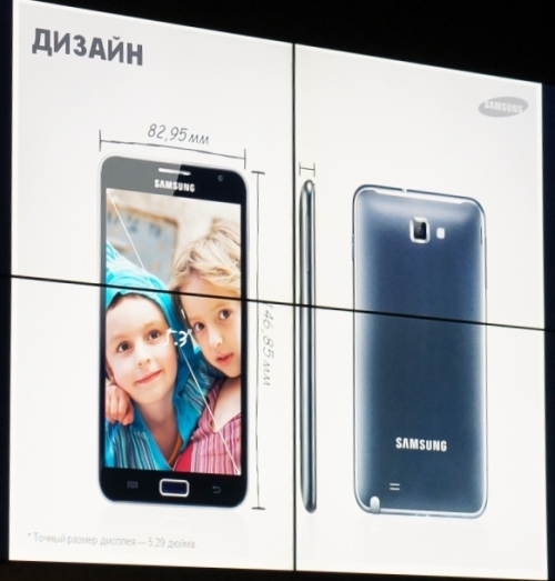 дизайн смартфонов Samsung