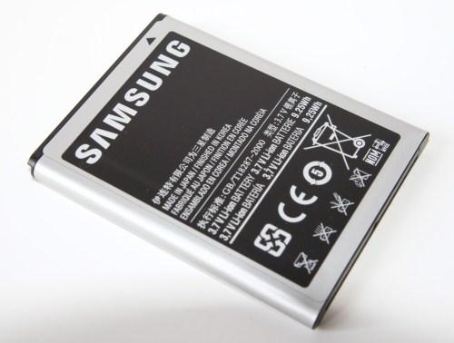 Galaxy Note, аккумулятор