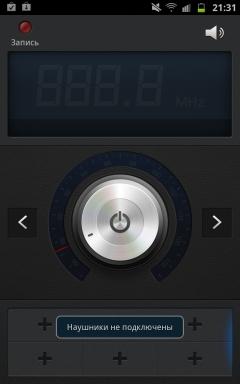 Galaxy Note, радио