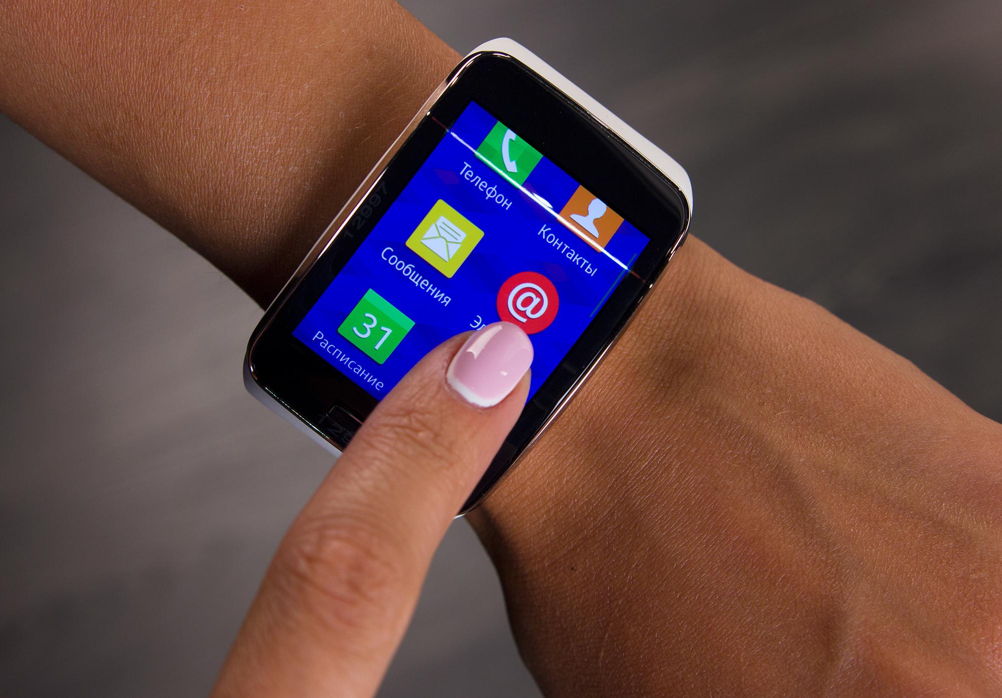 Умные часы Samsung Gear S 9a132fe5eab