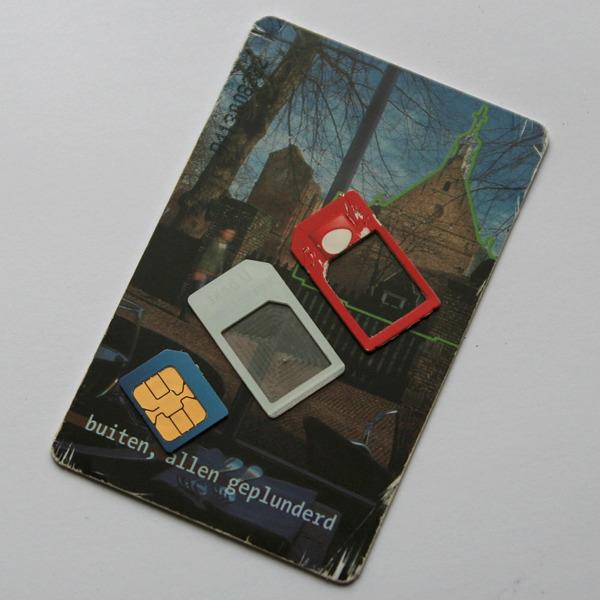 Как самостоятельно сделать Micro SIM карту из обычной