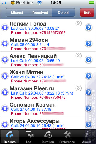Скачать программе звонок для айфона