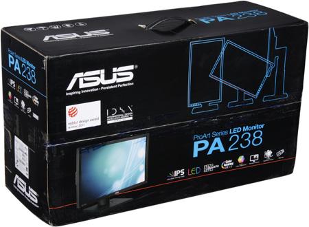 ЖК-монитор ASUS PA238Q, коробка
