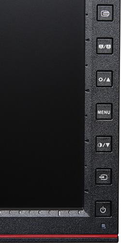 ЖК-монитор ASUS PA238Q, Кнопки управления