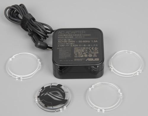 ЖК-монитор Asus ROG Swift PG258Q. Блок питания